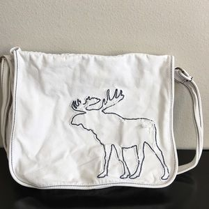 Abercrombie and Fitch Large Moose crossbody Bag